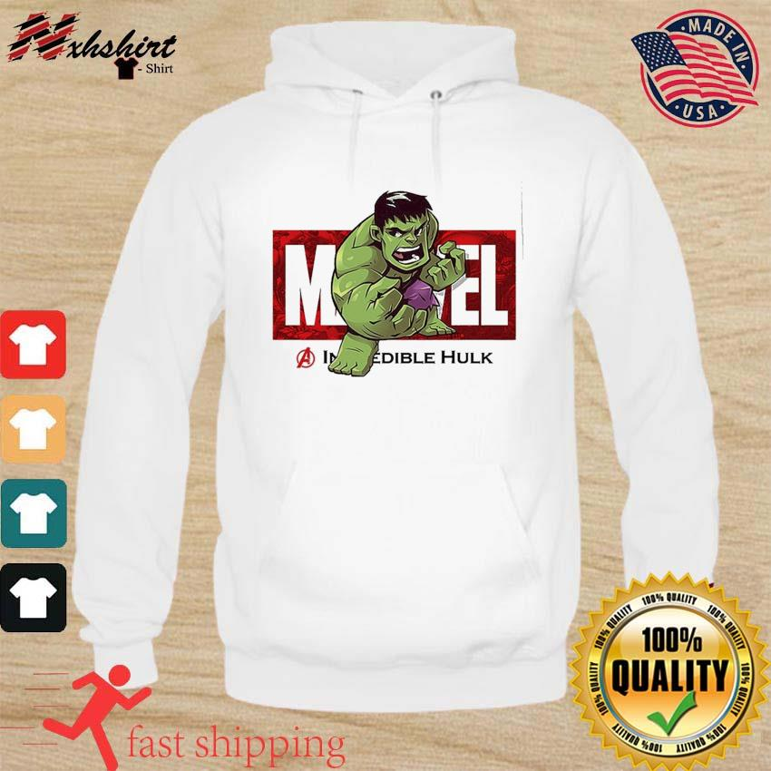 Marvel The Avengers Q Version Of The Hulk Shirt hoodie
