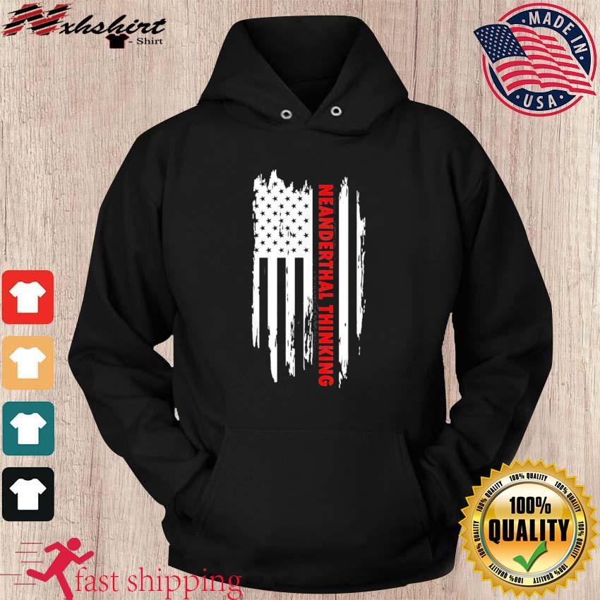 Proud American Neanderthal Thinking Us Flag Classic T-Shirt hoodie