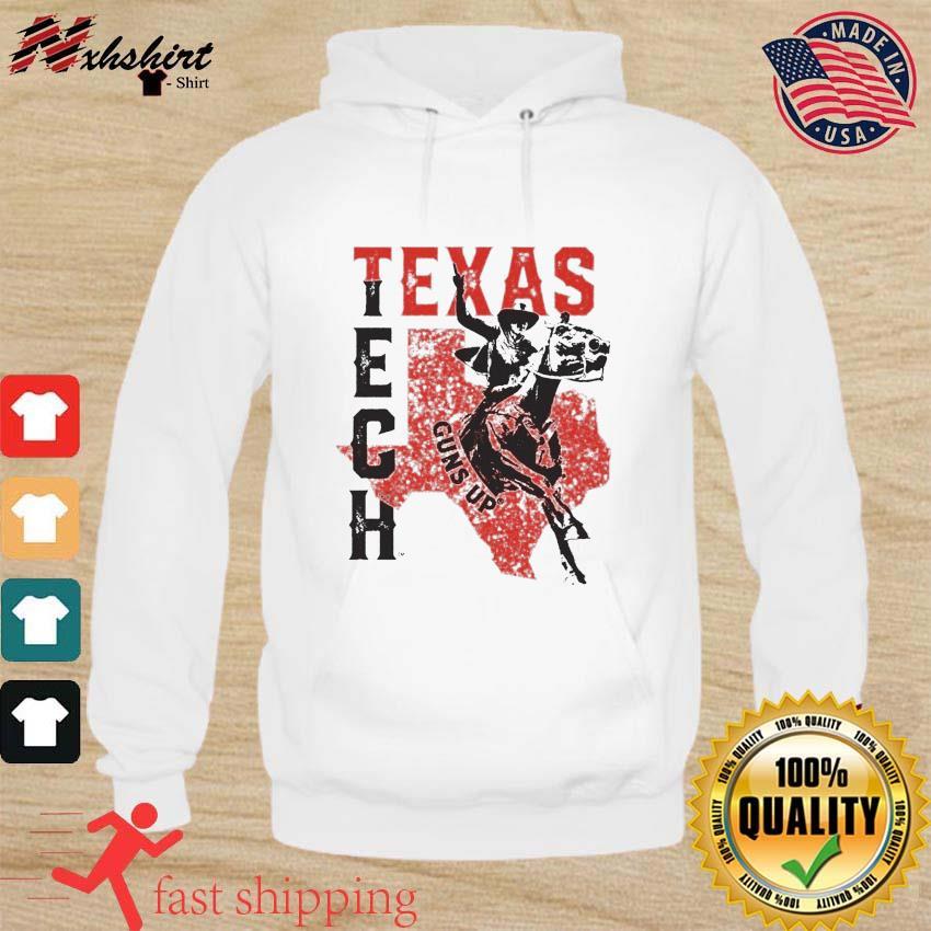 Horse Racing Texas Tech Guns Up Shirt hoodie