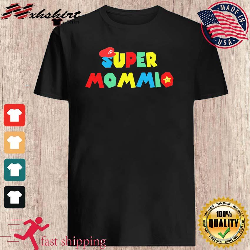 Official Happy Mother's Day 2021 - Super Momio Super Mario Shirt
