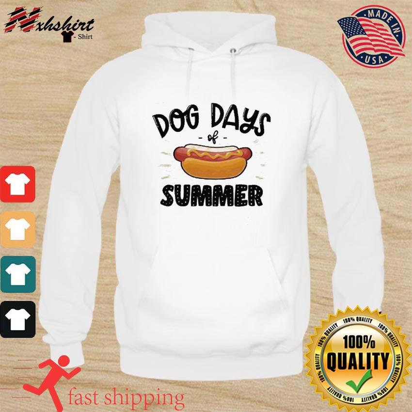 Official Hot Dog With Dog Day Of Summer Shirt hoodie