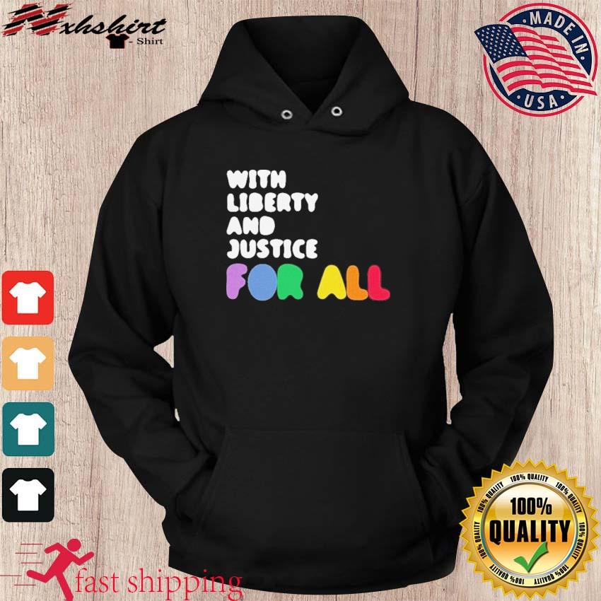Official NBA With Liberty And Justice For All 2021 Shirt hoodie