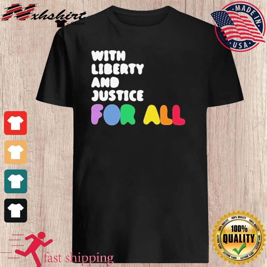 Official NBA With Liberty And Justice For All 2021 Shirt