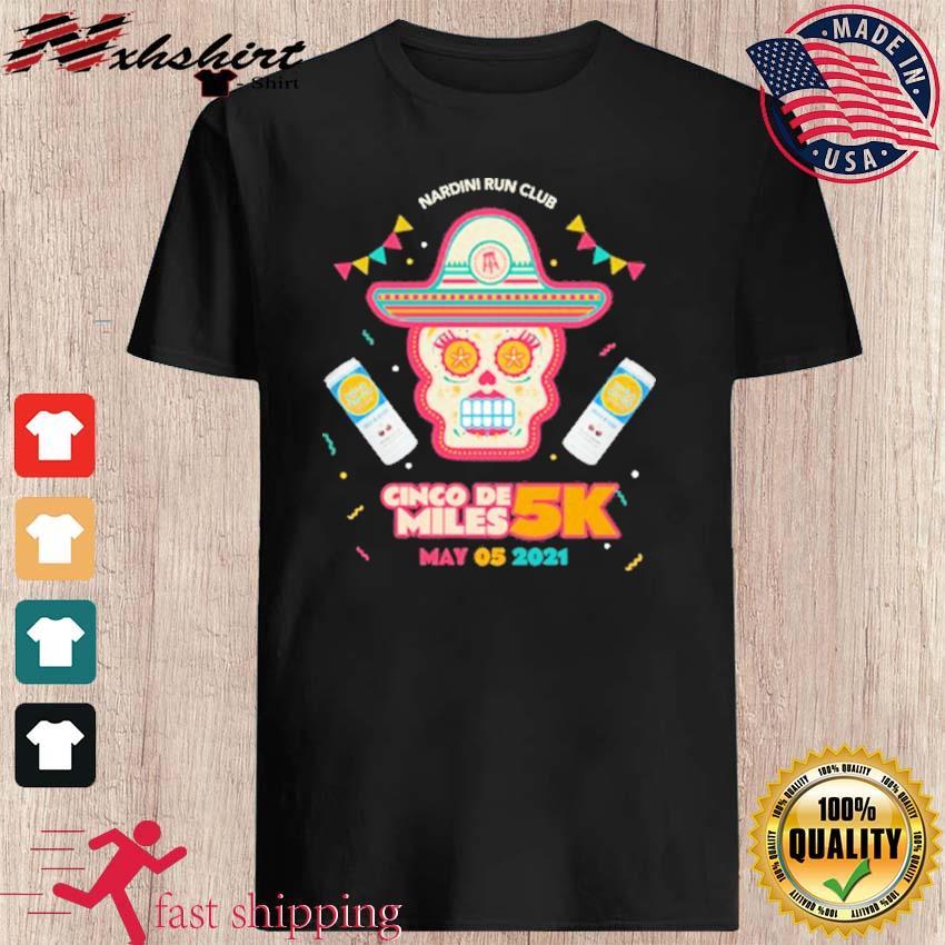 Official Nrc Cinco De Miles 5k Shirt