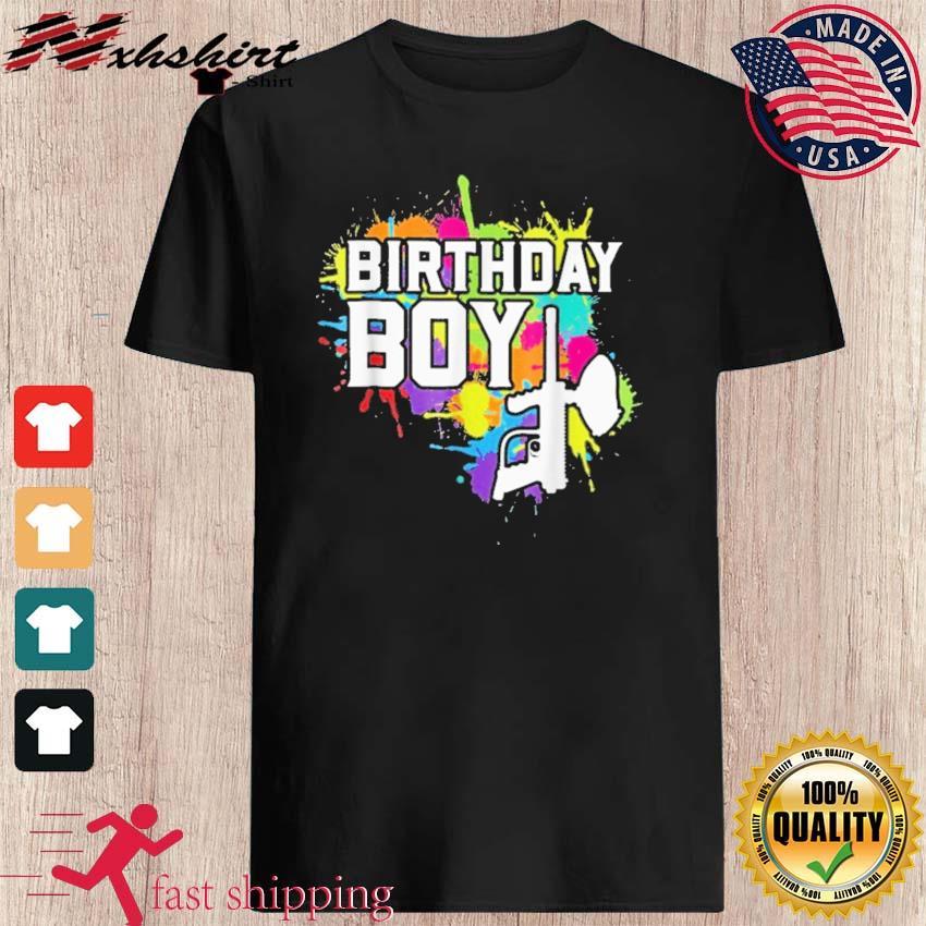 Official Paintball Birthday Boy Shirt