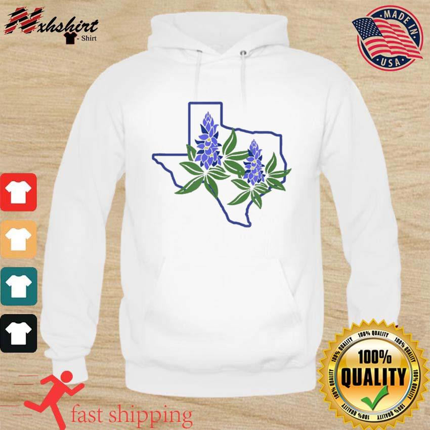 Official Texas Bluebonnet Wildflowers Shirt hoodie