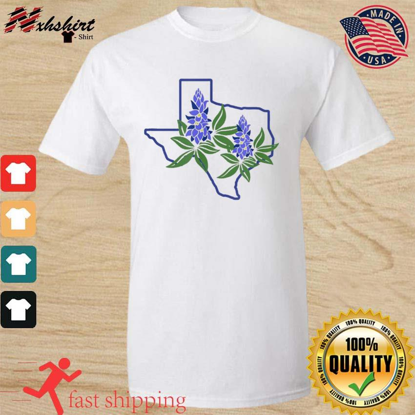 Official Texas Bluebonnet Wildflowers Shirt
