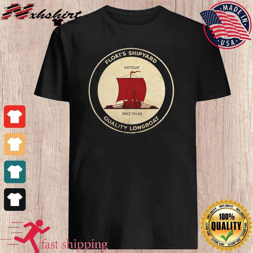 Floki's Shipyard Quality Longboat T-Shirt