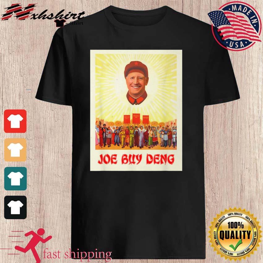 Funny Republican Political Satire Meme Beijing Joe Biden Buy Deng Shirt