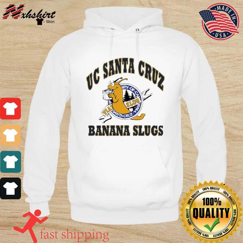 Official Uc Santa Cruz Banana Slugs Shirt hoodie