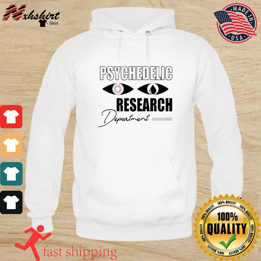 Psychedelic Research Department Funny Shirt hoodie