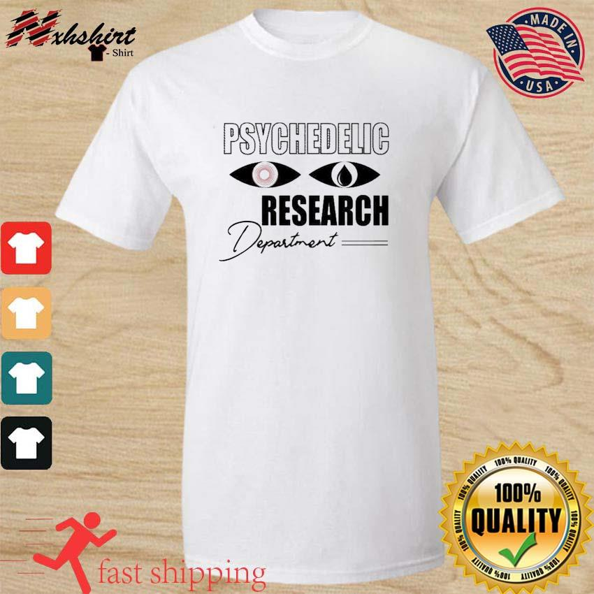 Psychedelic Research Department Funny Shirt