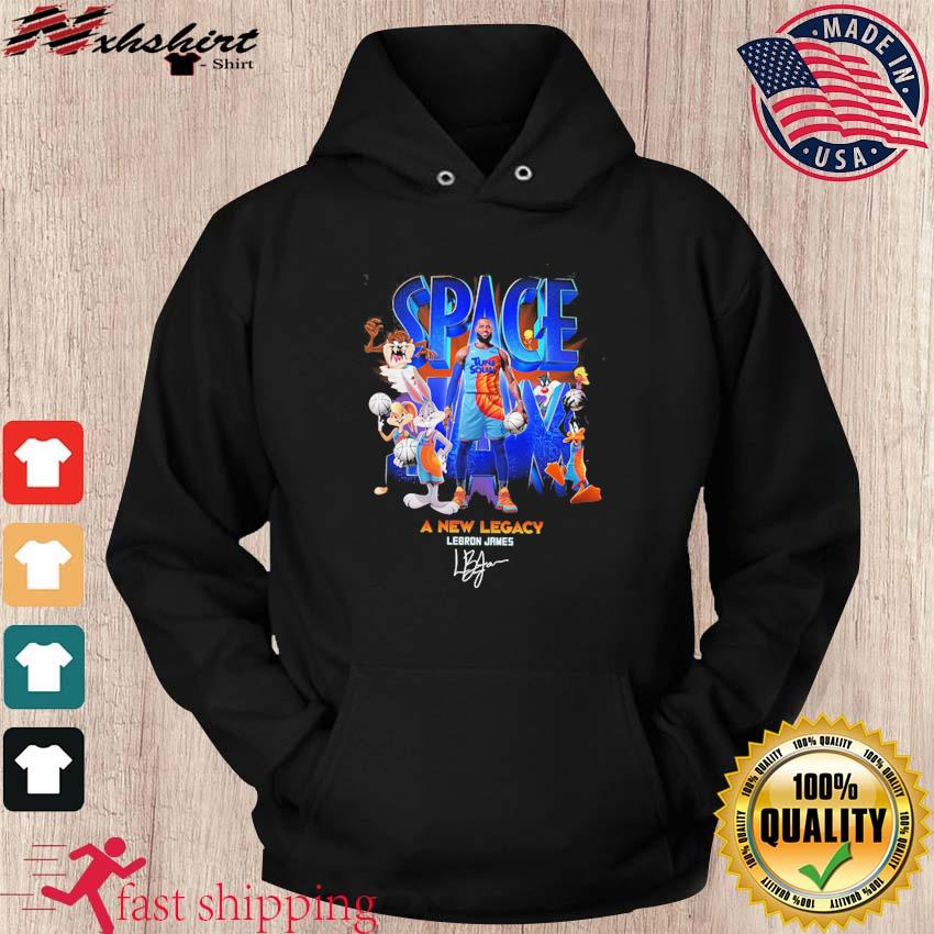 Lebron James Space Jam 2 Tune Squad A New Legacy Signature Shirt hoodie