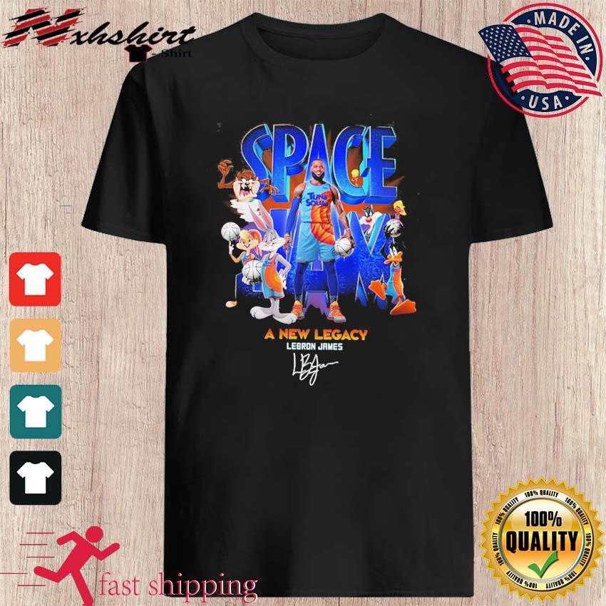 Lebron James Space Jam 2 Tune Squad A New Legacy Signature Shirt