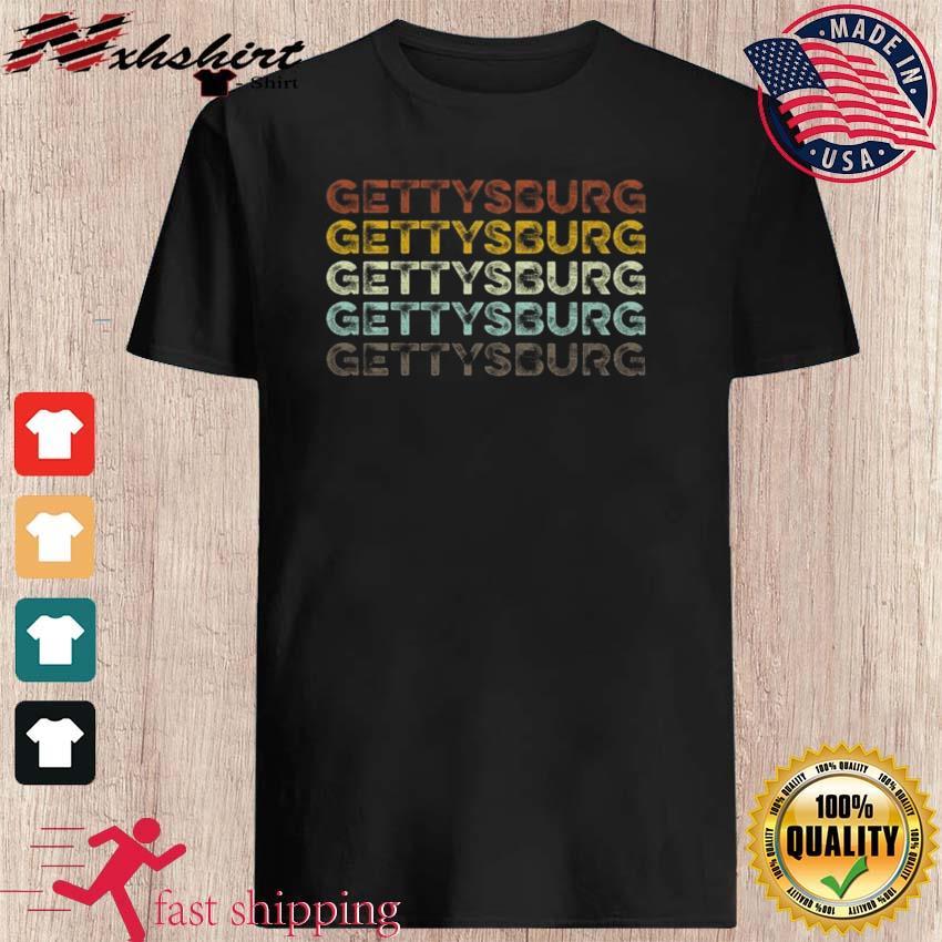 Retro Gettysburg Shirt