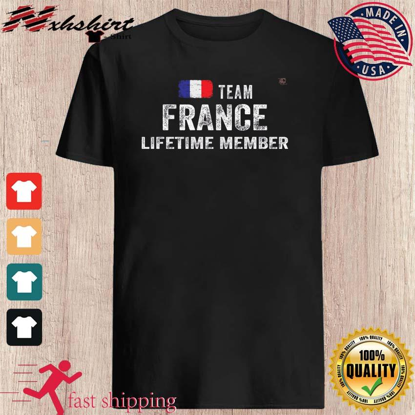Team France Lifetime Member Flag Shirt