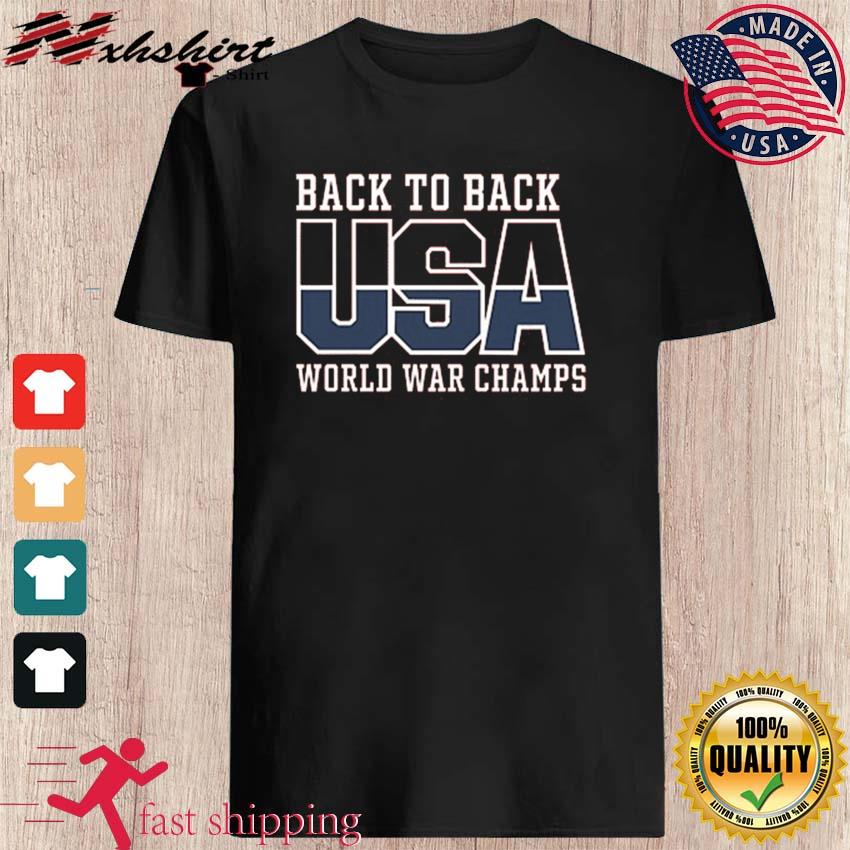 USA Back To Dack WORLD WAR CHAMPS Funny t-Shirt