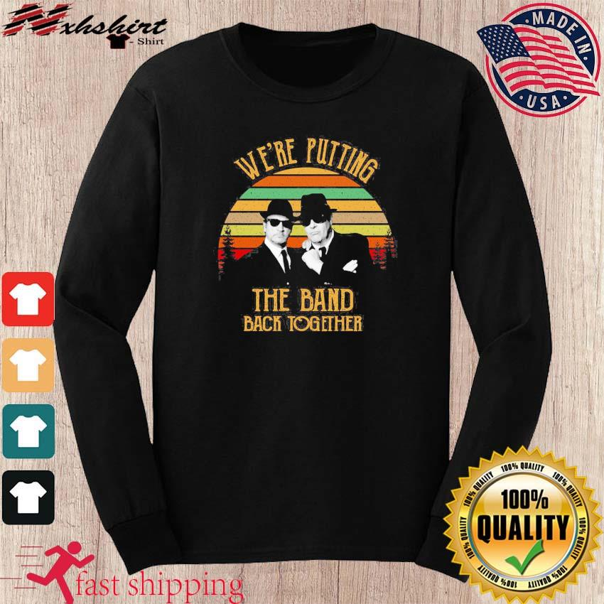 Alabama Blues Brothers We're Putting The Band Back Together Vintage Shirt