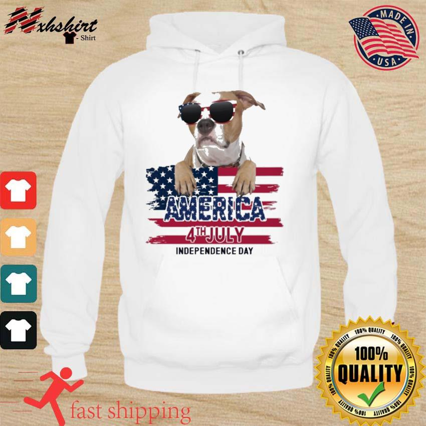 Staffordshire America 4th July Independence Day Flag Shirt hoodie