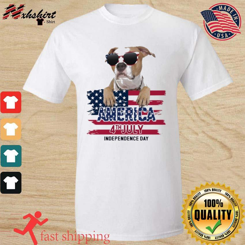 Staffordshire America 4th July Independence Day Flag Shirt