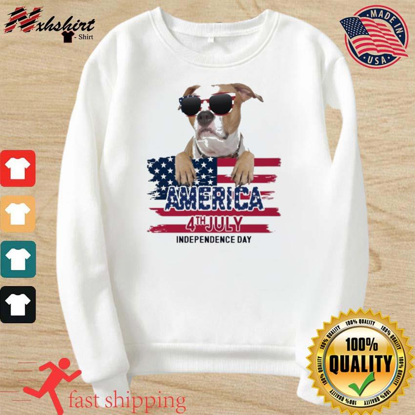 Staffordshire America 4th July Independence Day Flag Shirt sweater