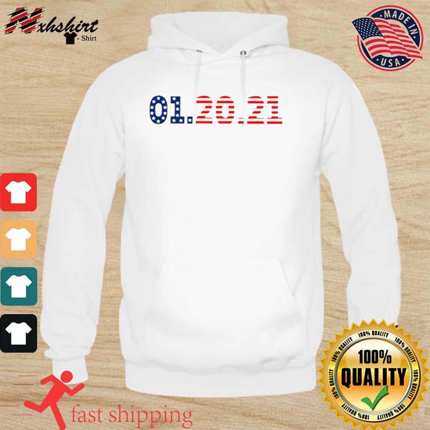 01 20 2021 Inauguration Day American Flag s hoodie