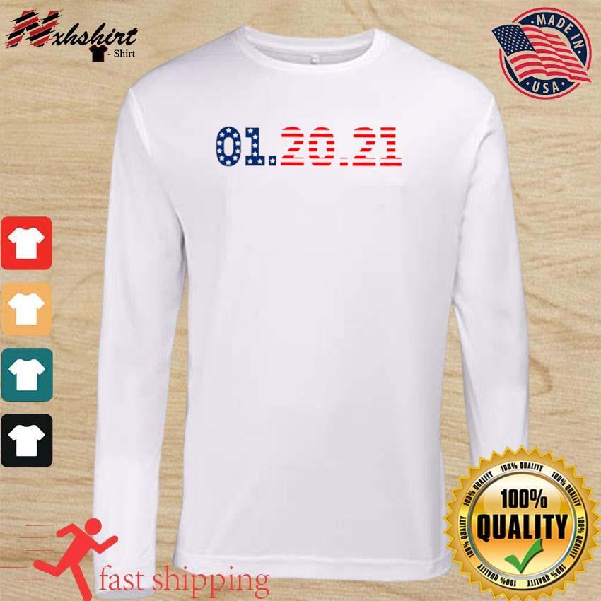 01 20 2021 Inauguration Day American Flag s long sleeve
