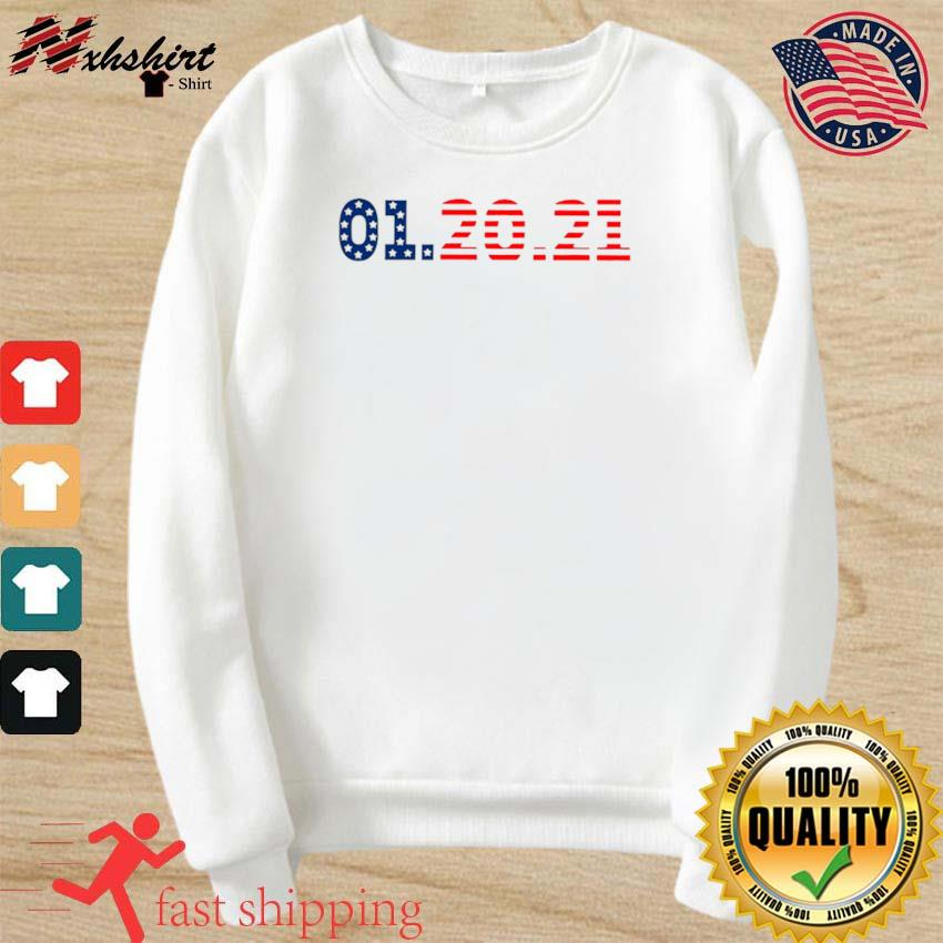01 20 2021 Inauguration Day American Flag s sweater