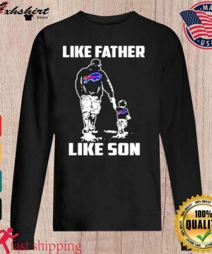 Buffalo Bills like father like son s sweater