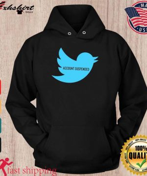 #AccountSuspended , Donald Trump Twitter Account Suspended T-Shirt – @RealDonaldTrump hoodie