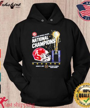 Alabama Crimson Tide 2021 College Football Playoff National Champions Alabama 52 Ohio State 24 Shirt hoodie