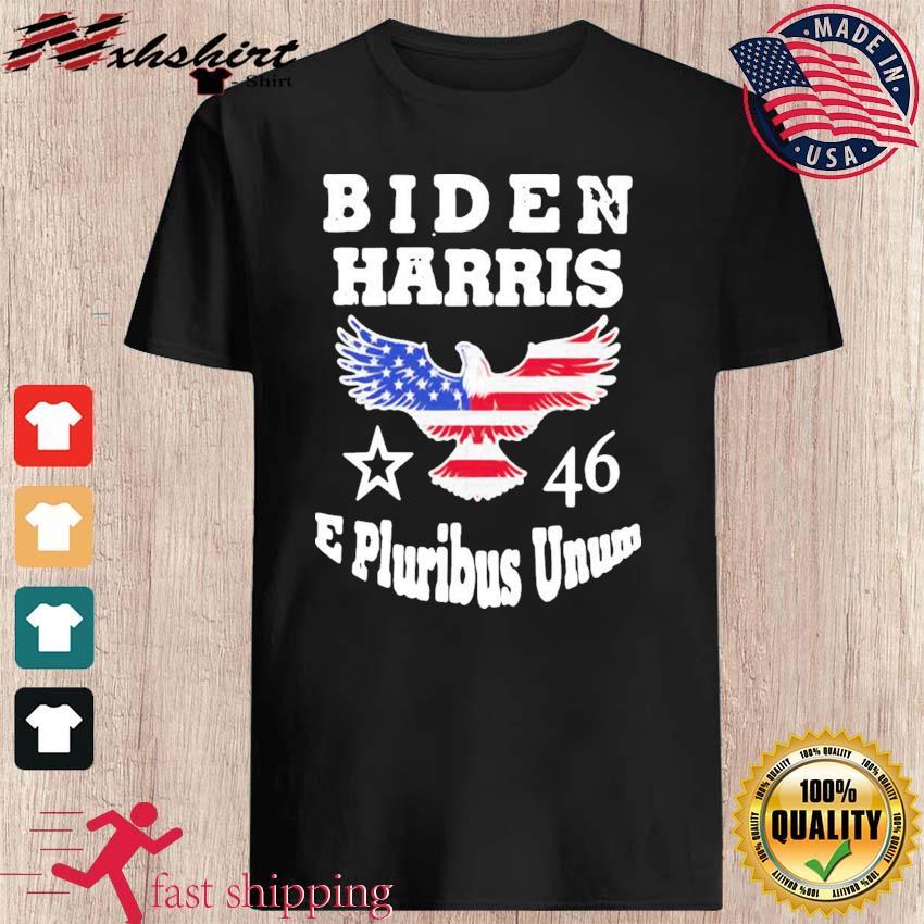 Biden Harris E Pluribus Unum 2021 Inauguration Eagle American Flag Shirt