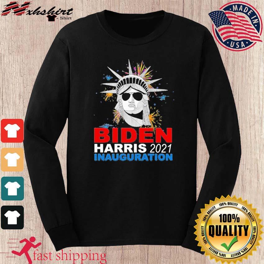 Biden Victory Inauguration Celebration Vintage Distressed Shirt long sleeve