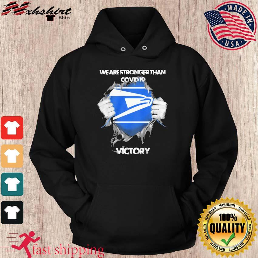 Blood Inside Me The Seahawks We Are Stronger Than Covid 19 Victory Shirt hoodie