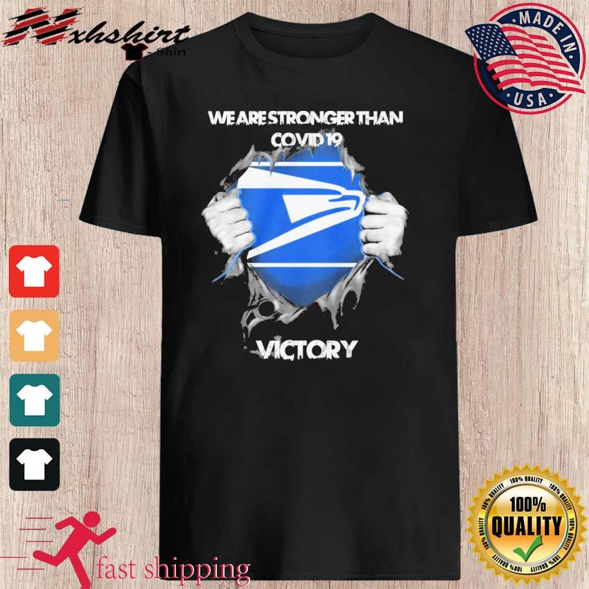 Blood Inside Me The Seahawks We Are Stronger Than Covid 19 Victory Shirt