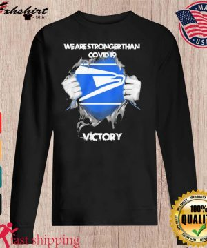 Blood Inside Me The Seahawks We Are Stronger Than Covid 19 Victory Shirt sweater